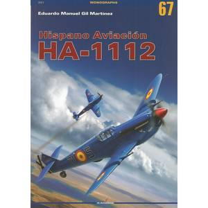 Bilde av Kagero Hispano Aviación HA-1112 bok